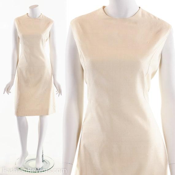 ORIGINALA Dress, Vintage Originala Dress, Silk Whi