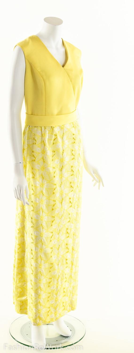 Yellow Daisy Dress,Daisy Lace Dress,Sunny Yellow … - image 4