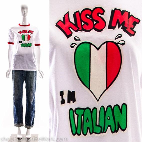 ITALY RINGER RETRO FUNNY TSHIRT