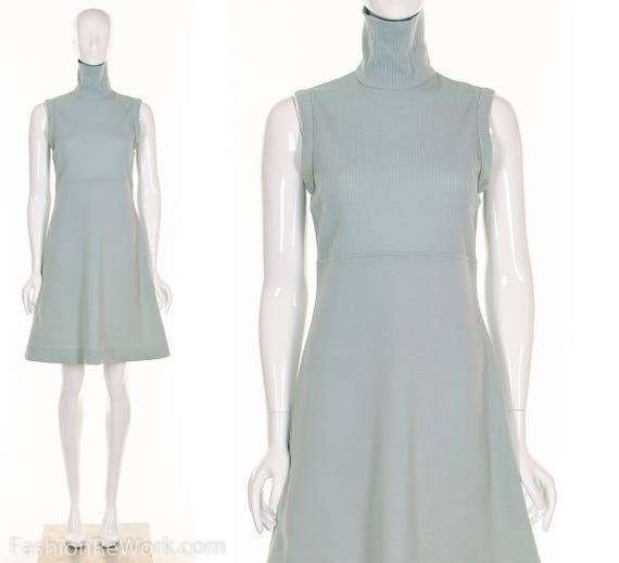 Skater Dress Cher Dress MINIMALIST Dress Icy Blue