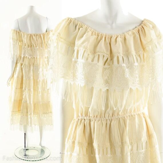 Boho Wedding Dress,Mexican Wedding Dress,Beach Wed