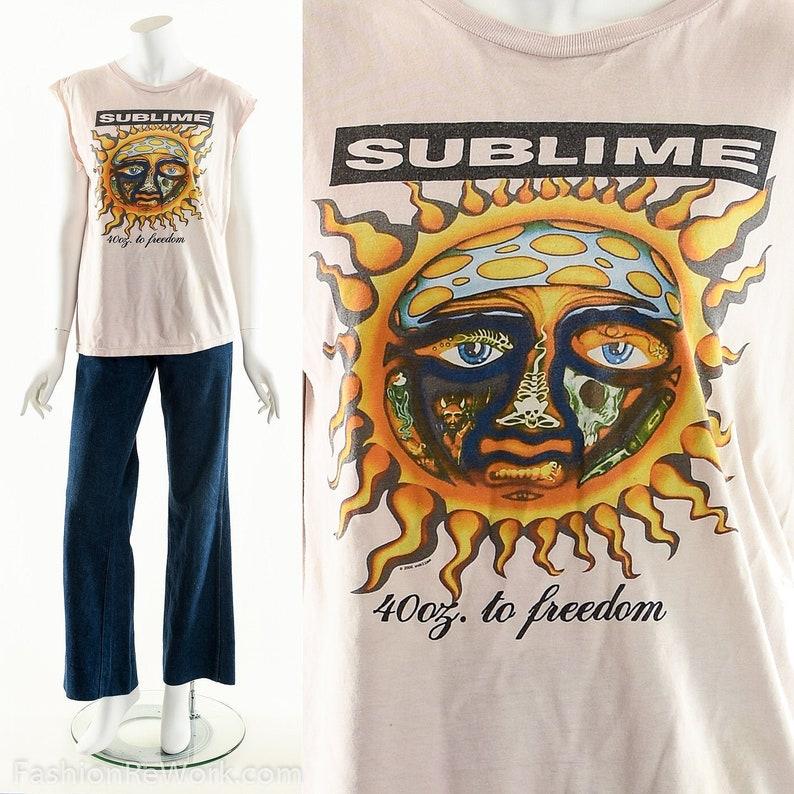 Sublime T-Shirt Celestial Sun ShirtVintage Sublime Tee90s image 0
