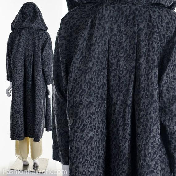 Reversible Leopard Rain Jacket, Designer Reversib… - image 3