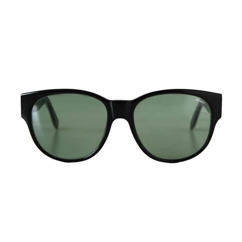 c1fabd3e3a Black oversized sunglasses large vintage sunglasses from the