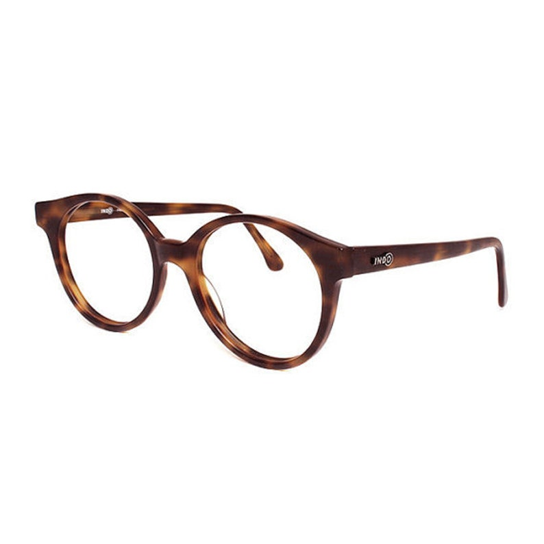d278cdaef2 brown tortoise round glasses large vintage eyeglasses for