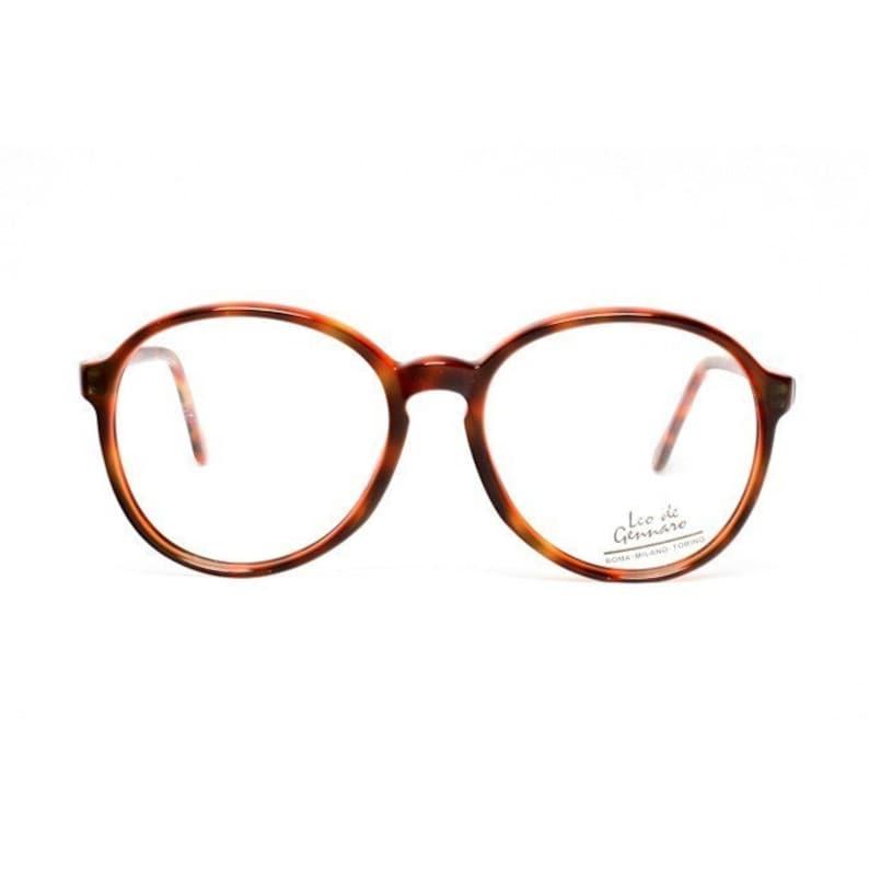 SALE  vintage round glasses frames  tortoise eyeglasses  image 0
