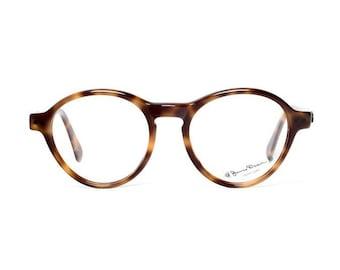 vintage round James Dean glasses , brown tortoise eyeglasses , stylish eyewear for men , perfect gift for dad , habana