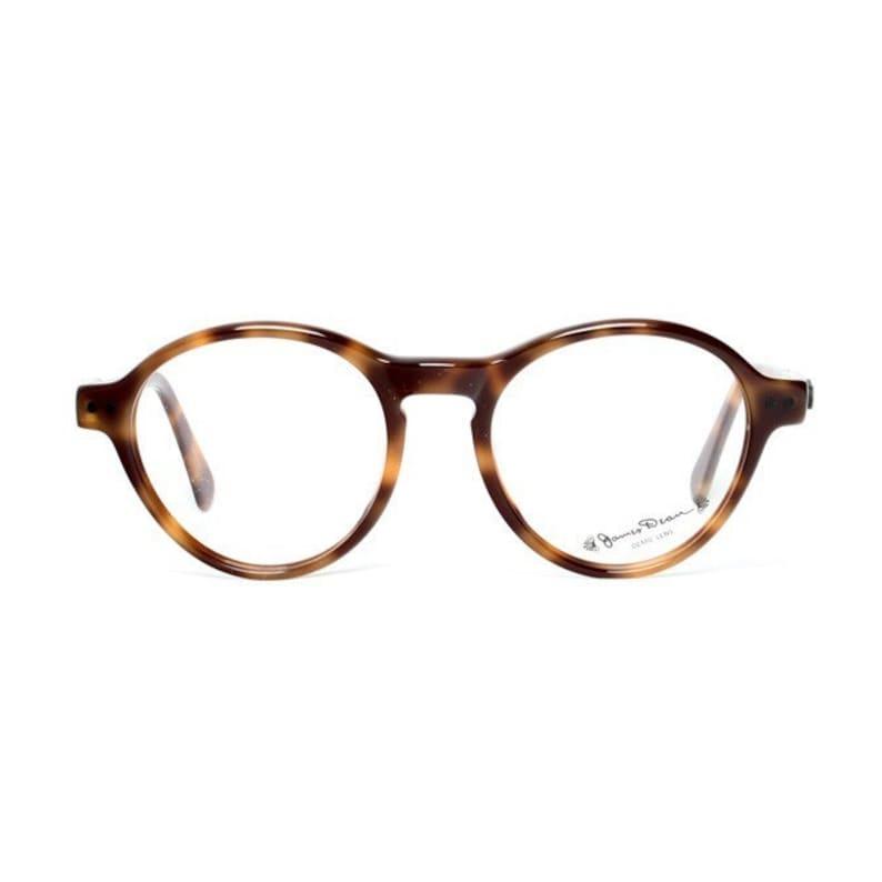 7bad590e32d37d Vintage ronde James Dean bril bruin schildpad brillen voor