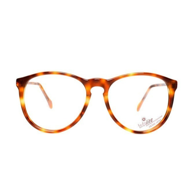 82f7bce4556 Brown round glasses vintage glasses tortoise shell