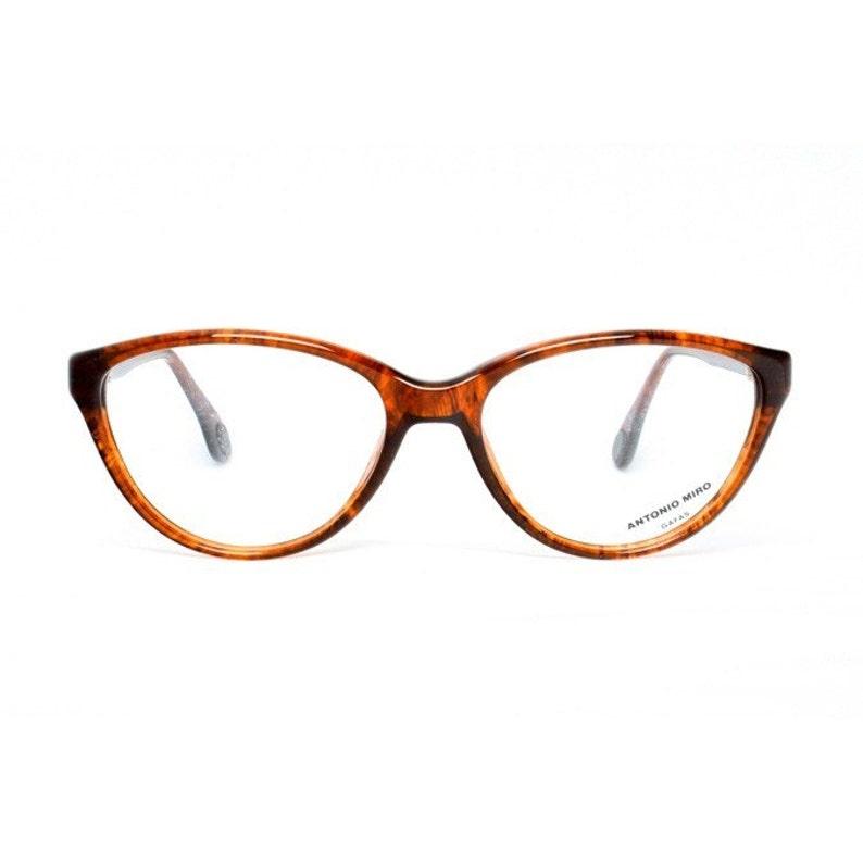 42a5ac7c44 Brown vintage cateye eyeglasses tortoise shell cateye