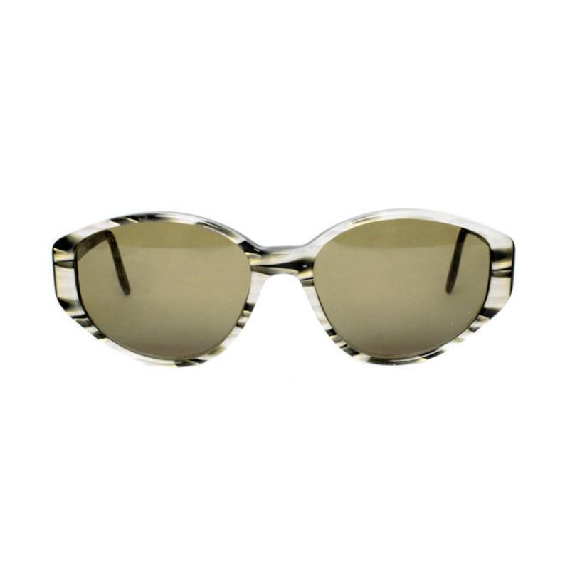 90d0e13fa9 vintage oval sunglasses - gray gold black sun glasses for women - original  80s e... vintage oval sunglasses - gray gold black sun glasses for women ...