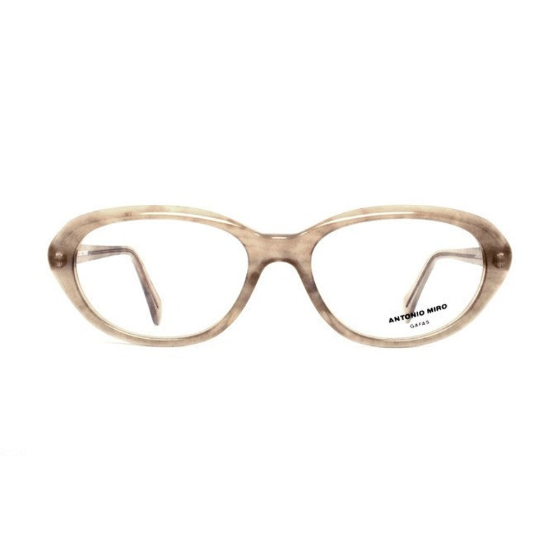 f5c5b7508022 Oval brown vintage glasses quality womens eyeglasses frames