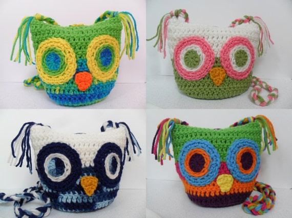 Owl Bag Basic Digital Download Pdf Crochet Pattern Diy Etsy