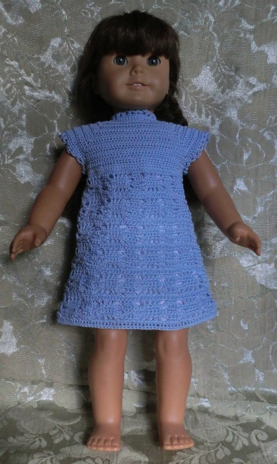 201 Spider Web Dress Crochet Pattern For 18 Inch Dolls Etsy