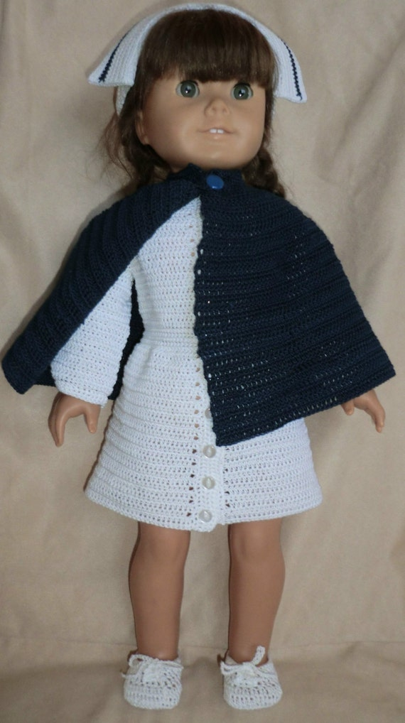 210 Nurse Uniform Crochet Pattern For American Girl Dolls Etsy