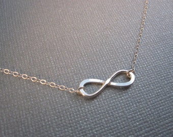 Infinity Necklace, Infinity Pendant, Valentines Day, Best Friend, Mother, Wife, Bridesmaids READY TO SHIP
