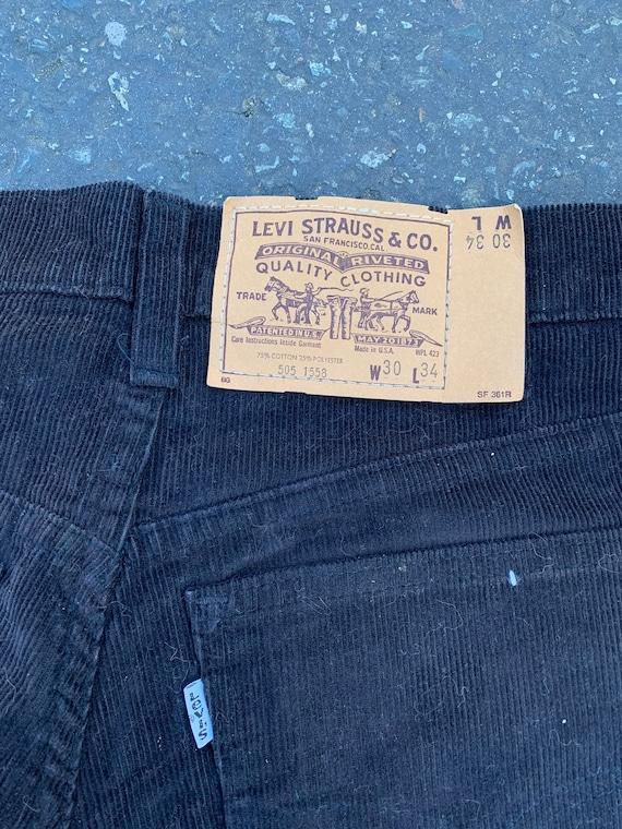 1970s Deadstock Levi's Corduroys - image 3