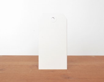 SALE 60% OFF WAS 5.00 white shipping tags: gift tags, labels, hang tags, clothing tags, mail tags set of 10