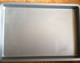 Aluminum Insulated Bake Wear, Baking Sheet, Vintage Bakeware, Vintage Cookie Sheet, Gift 4 Her, Wearever, Lightweight, Metal Bakeware, Retro