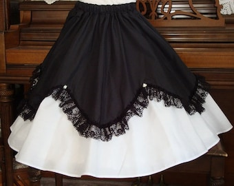 3e68750e088b Square dance skirt | Etsy