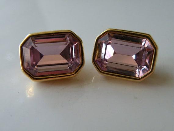 Swarovski purple light amethyst rhinestone  clip-o