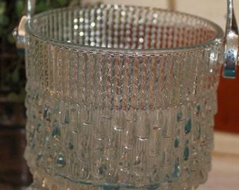 Small Glass Ice Bucket