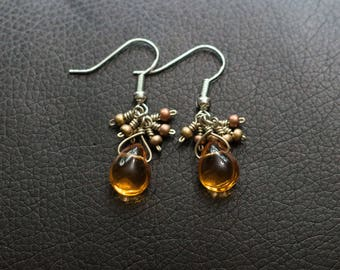 Assorted Beaded and Sterling Silver Earrings