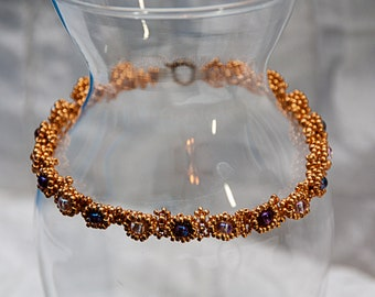 Studded Beaded Bracelet, Available in 4 Colors