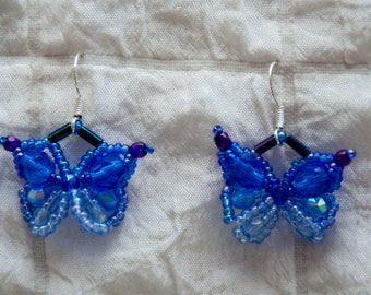 Butterfly Earrings, Available in 6 Colors