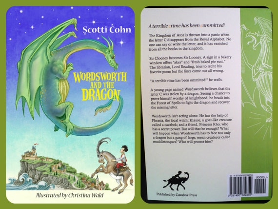 Childrens Books, Dragon Book for Sale by Author, Autographed Book, Fantasy Book, Kids Books for Grades 3-5, Child Gift, Child Book