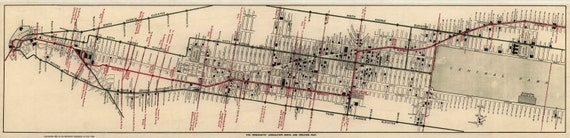 New York Merchants Map 1906