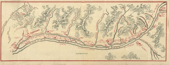 Alaska Fairbanks Map 1906
