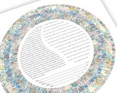 Contemporary ketubah - Ha...