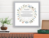 Ketubah Abstract Shapes C...