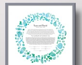 Life Ketubah Abstract Con...