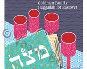 Passover Hagaddah customized cover for home printing