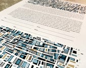 Contemporary Ketubah - Mosaic, Abstract, Modern