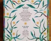 Canvas wrap, Physician's Daily Prayer, Maimonides Prayer, Canvas wrap, Graduation, Holiday gift, Wedding, Judaica