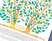 Ketubah Intertwined - Gue...