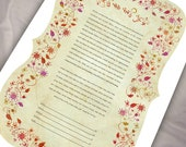 Ketubah - Love and flower...