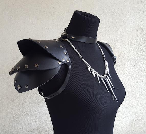 Épaule lanières Chaînes Harnais Cuir Ceintures Fashion Gothique Bretelles Hommes