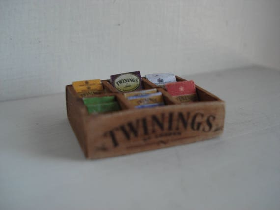 Miniature dolls house accessories Box of Cigars 1//12th miniature scale size