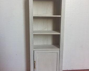 Dollshouse miniature furniture, one inch 1:12 scale furniture, Miniature dresser, miniature cupboard, dollshouse furniture