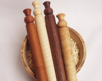 Scottish Spurtle cooking stick of American Cherry