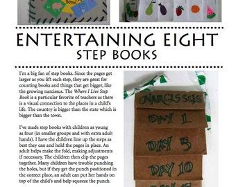Entertaining Eight: Making Step Books
