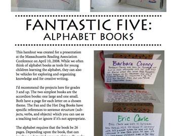 Fantastic Five: Making Alphabet Books