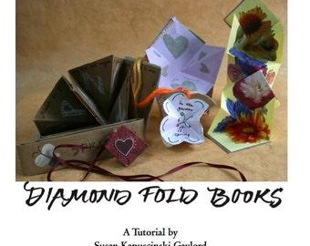 Making Diamond Fold Books