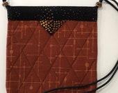 Quilts Snap Bag Purse, Shoulder Bag, 8 x 8-1 4