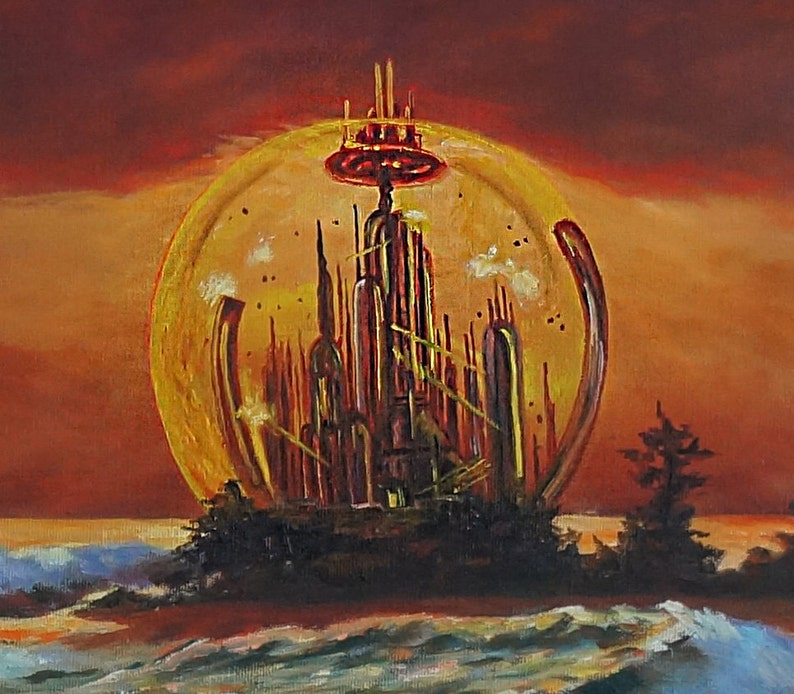 Gallifrey. Print fits 11 x 17 in frame free shipping image 0