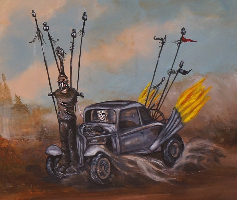 Fury Road. Print fits 8.5 x 11 in frame free shipping image 0